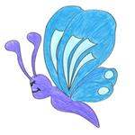 Proki Malvorlage Schmetterling